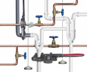 Pipes plumbers repair and install